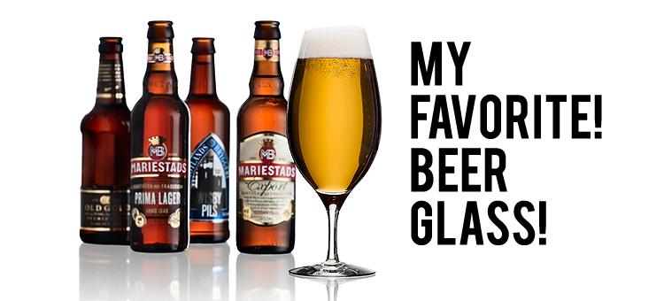 MY FAVORITE! BEER GLASS!